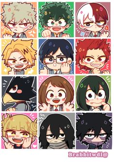 My Chibi Academia nwn Dibujos Anime Chibi, Cute Anime Chibi, Kawaii Chibi, Anime Kawaii, My Hero Academia Shouto, My Hero Academia Episodes, Hero Academia Characters, Boku No Academia, Hero Wallpaper
