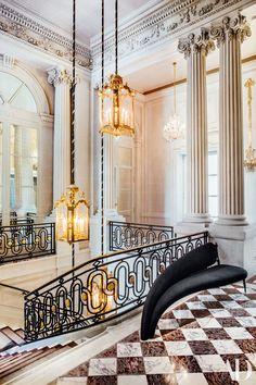 The Renovation of Paris's Hotel de Crillon Photos   Architectural Digest