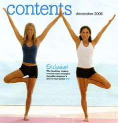 Body After Baby: Jennifer Aniston's Yoga Pro Workout
