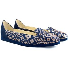 #boteamano Blue Babouche Slipper Shoes