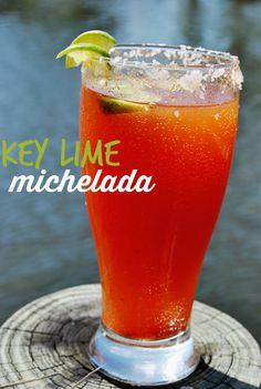 Key Lime michelada