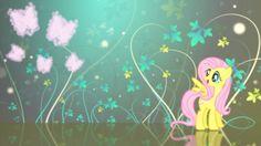 Fluttershy - My Little Pony - AppleJack, Rarity, Butterflys, Twilight Sparkle, Pinkie Pie, Friendship is Magic, Fluttershy, My Little Pony, Rainbow Dash