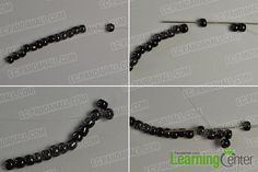 Make the first part of the lovely cat pendant necklace