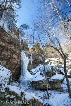 Boulder Creek Falls - Shawnee National Forest Shawnee National Forest, Boulder Creek, Southern Illinois, Fairy Land, Lake Michigan, Weekend Trips, Winter Scenes, Bouldering, Waterfalls