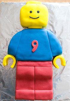 Le gâteau bonhomme Lego