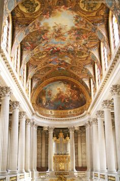 Royal Chapel, Versailles Palace John and I have been there! Loved  it!