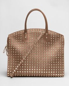 Allover Studded Rockstud Tote by Valentino at Bergdorf Goodman.