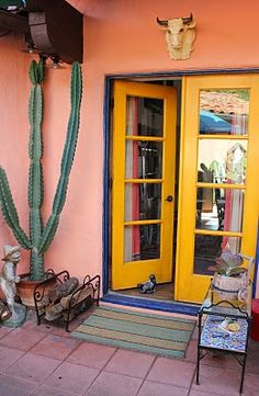 I want these doors in these colors. Getting ready to add similar doors and yep going color crazy!