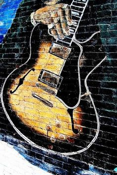 Rhythm And Blues, Blues Music, Green To Blue, Delta Blues, 3d Street Art, Sidewalk Chalk, Blues Rock, Dancing In The Rain, Book Signing