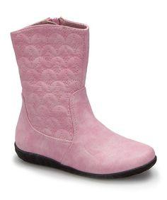 Look at this #zulilyfind! Pink Webi Boot by Marilyn Moda #zulilyfinds