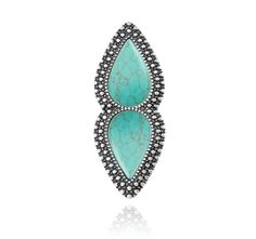 SAMANTHA WILLS - BOHEMIAN NIGHTS RING - TURQUOISE Turquoise Rings, Turquoise Necklace, Samantha Wills, Bohemian Jewellery, Wishful Thinking, Bridal Style, Jewelry Collection, Jewelry Design, Accessories