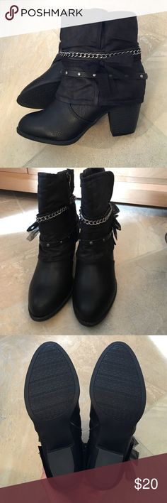 Jellypop Blake black bootie Brand new without tags - never worn. ✨ Ask any questions! No trades.  Jellypop Shoes Ankle Boots & Booties