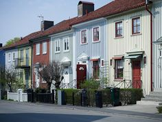 MIN INSPIRATION: Vackert 20-tals radhus, del 1 Classical Architecture, Architecture Details, Different Types Of Houses, Charming House, Swedish House, True Art, Townhouse, Villa, Nordic Classicism