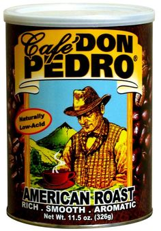 Cafe Don Pedro Low Acid Ground Arabica Canned Coffee 11.5 Oz. (Pack of 4) * Visit the image link more details.