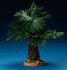 "Fontanini 7"" Palmyra Palm Tree * Nativity Village Collectible 59534 - dadodu.com"