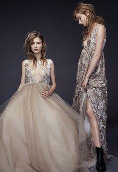 Vera Wang Fall 2015 Wedding Dresses