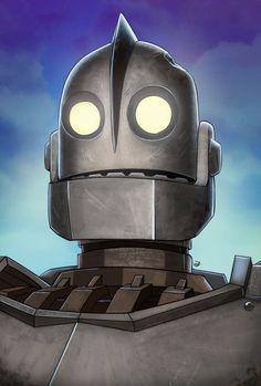BROTHERTEDD.COM - The Iron Giant by Soliduskim on DeviantArt Cartoon Movies, Cartoon Shows, Cartoon Art, Triathlon Tattoo, The Iron Giant, Grey Knights, Retro Robot, Robot Art, Robots