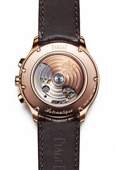 www.watchtime.com   wristwatch industry news industry    Piagets Gouverneur Collection: Pictures, Specs, and Video   Piaget Gouverneur Chrono back 560