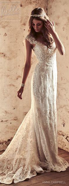 Wedding Dress by Anna Campbell 2018 Eternal Heart Collection #weddingdress