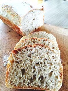 Verdens beste brød, eltefritt og enkelt. Av  Ina-Janine Johnsen (in Norwegian)