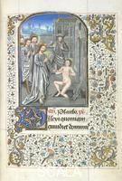 ******** Raising of Lazarus. Yates Thompson 4  f.127