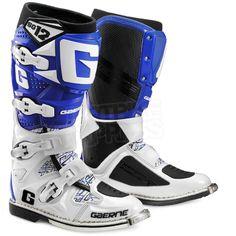 2015 Gaerne SG12 Boots - White Blue