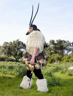 It takes some pretty big BELLS to wear this costume!     Creative Costumes of Still-Practiced Pagan Rituals of Europe (19 pics) | Bored Panda