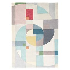 too small!  it's the same size as existing rug.  but perfect colour scheme. Buy Lindsey Lang Fibonacci Rug, Multi Online at johnlewis.com