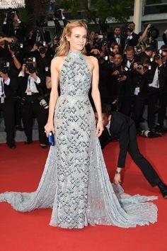Diane Kruger in Prada beim Filmfest in Cannes