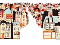 Elisa Gehin. (Illustration of Place/Space)