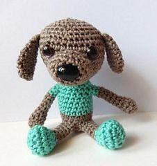 Free Crochet Hot Dog Pattern : Hot Dog Potholder - Free by American Thread Company Dog ...