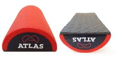 Alpha Half Foam Roller - Textured Lumbar Support Pillow for Back Pain, Neck and Back Massage compression -- Review more details here : Pilates