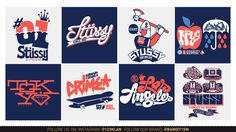DESIGN FOR THE BRAND STUSSY BY 123KLAN