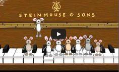 """Happy Birthday"" Musical Mice"
