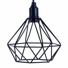 Lustre aramado Design Estilo Industrial que dará personalidade a sua decoração.