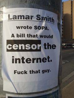 Lamar Smith is Scum