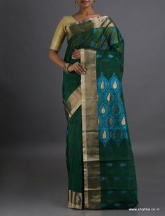 Arindita Trendy looking Traditional #CoimbatoreSilkCottonSaree