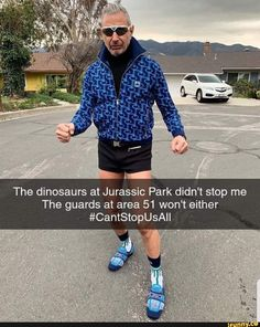 The dinosaurs at Jurassic Park didn't stop me The guards at area 51 won't either #CantStopUsAll – popular memes on the site iFunny.co #jurassicpark #movies #the #dinosaurs #jurassic #park #didnt #stop #guards #area #wont #pic