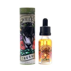 Taurus by Twelve Vapor is a full-bodied buttery blend of baked crust, almonds, delicate caramel, Tahitian vanilla, fresh cream and a touch of peanut butter. Beautifully rounded out with two types of exotic custards.
