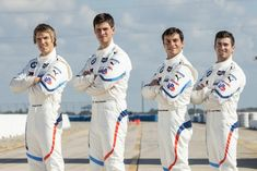 Jesse Krohn, John Edwards, Bruno Spengler, Connor De Phillippi, BMW Team RLL at BMW driver announcement High-Res Professional Motorsports Photography John Edwards, Formula E, Team Player, Motogp, Lineup, Super Cars, North America, Two By Two, Racing