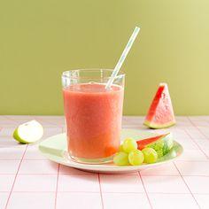 ALDI België - Recept - Watermeloen-appelsmoothie met witte druiven
