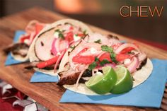 Carla Hall's Pork Tacos #thechew