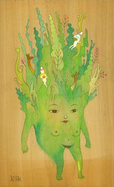 greenlady by Apak