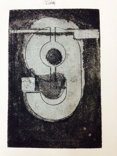 Etching number9 by Helen Perry for gallerytwenty4seven.co.uk