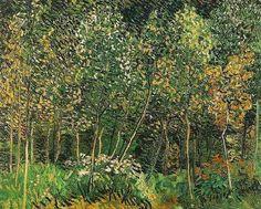 Vincent van Gogh. The Grove. Auvers-sur-Oise: July 1890