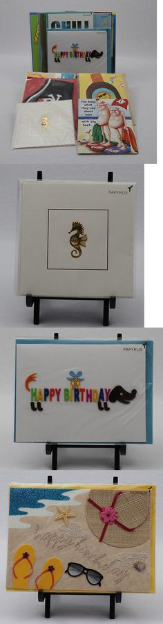Greeting Cards and Invitations 170098: Lot Of Papyrus Birthday Cards-10 New Cards Plus 1 Free, $60.50 Retail Value! -> BUY IT NOW ONLY: $30 on eBay!