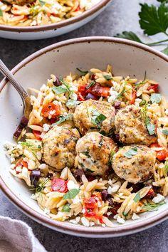Greek Recipes, New Recipes, Dinner Recipes, Cooking Recipes, Favorite Recipes, Healthy Recipes, Healthy Foods, Turkey Recipes, Chicken Recipes