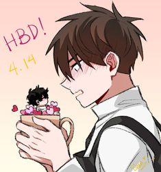 Sign Manga Anime, Yandere Manga, Manga Boy, Manhwa Manga, Anime Guys, Bl Webtoon, Shounen Ai, Cute Gay, Sign Language