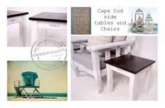 sea side, side tables
