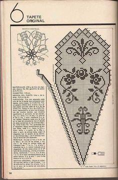 """#438 Tapete """"Original"""" a Crochet o Ganchillo"""